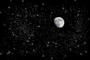 http://www.dreamstime.com/stock-images-moon-starry-night-sky-image12911954