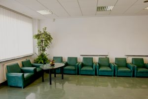 Waiting Room in Green