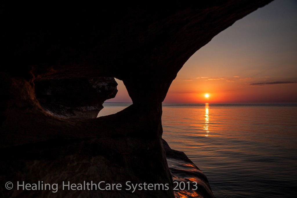Sunset and rock formations4