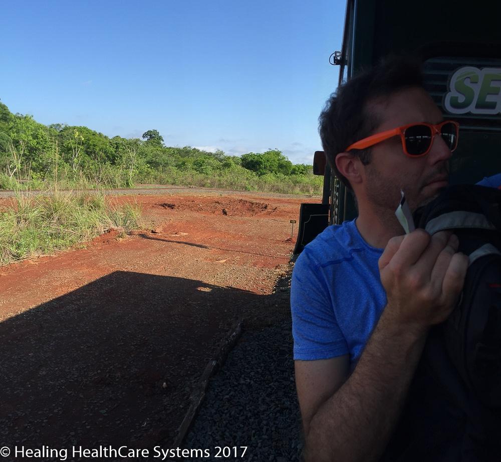 Iguazu Train Ride