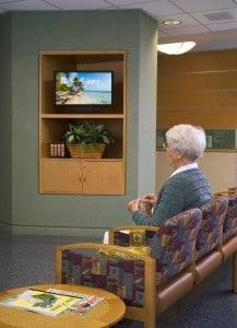 hospital waiting areas