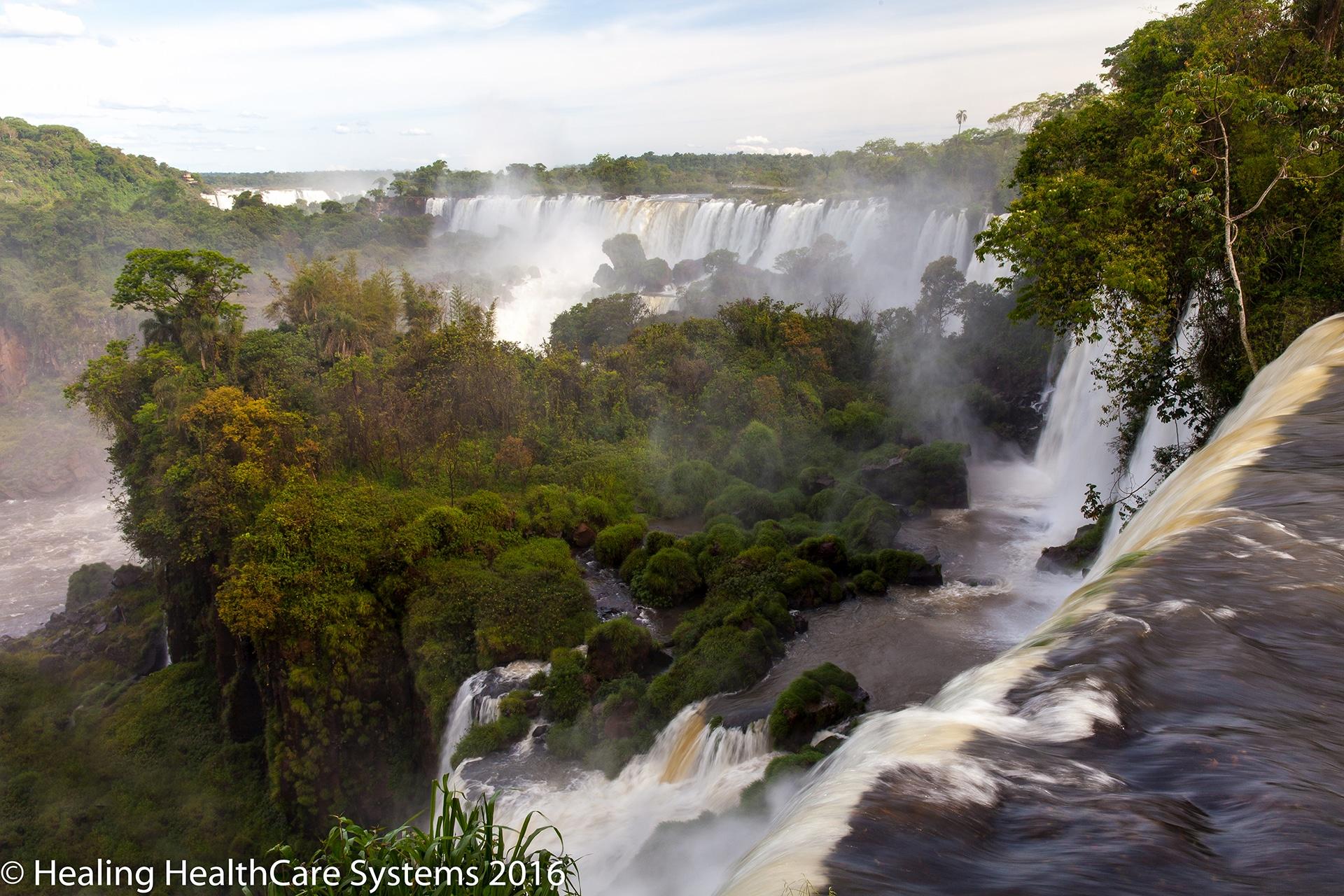 Patagonia South America >> Iguazu Falls - C.A.R.E. Channel - Healing HealthCare Systems