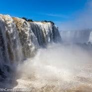 Iguazu Falls Devil's Throat - Brazil side