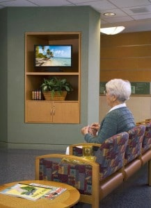 hospital waiting areas