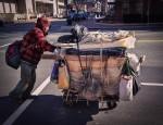 Homeless man in DC