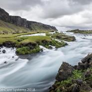 smooth water photo Iceland