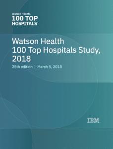 Top 100 Hospitals 2018