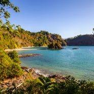 Costa Rica rocky shoreline