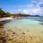 Vietnam clean ocean beach