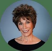 Susan Mazer head shot in circle