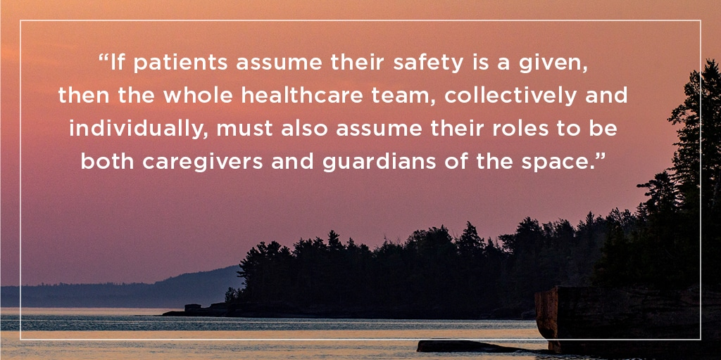 sunset quote on patient safety