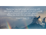 Susan Mazer quote on Science and Belief